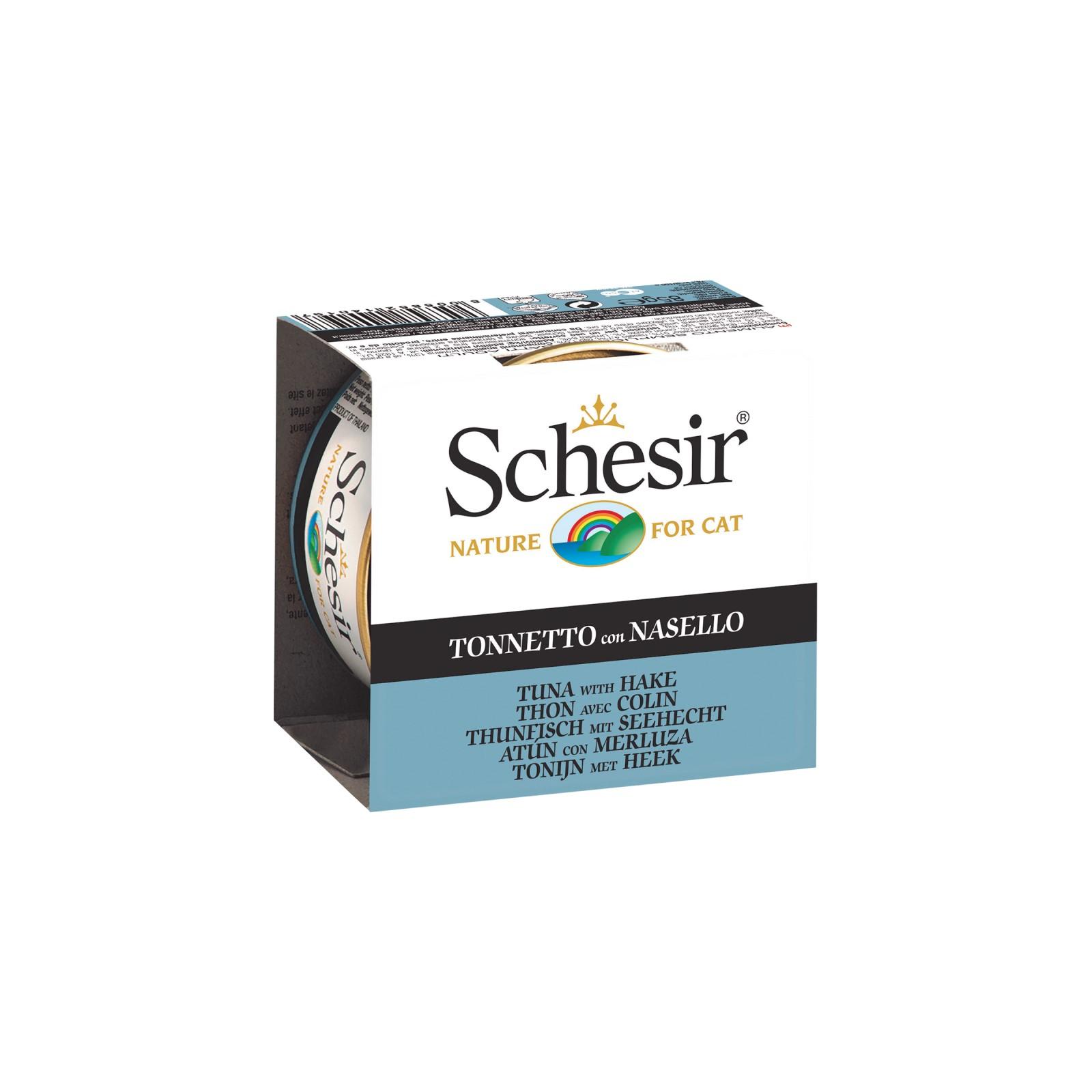 Schesir - Jelly tunjevina I bakalar - Hrana za mačke konzerva tunjevina I bakalar
