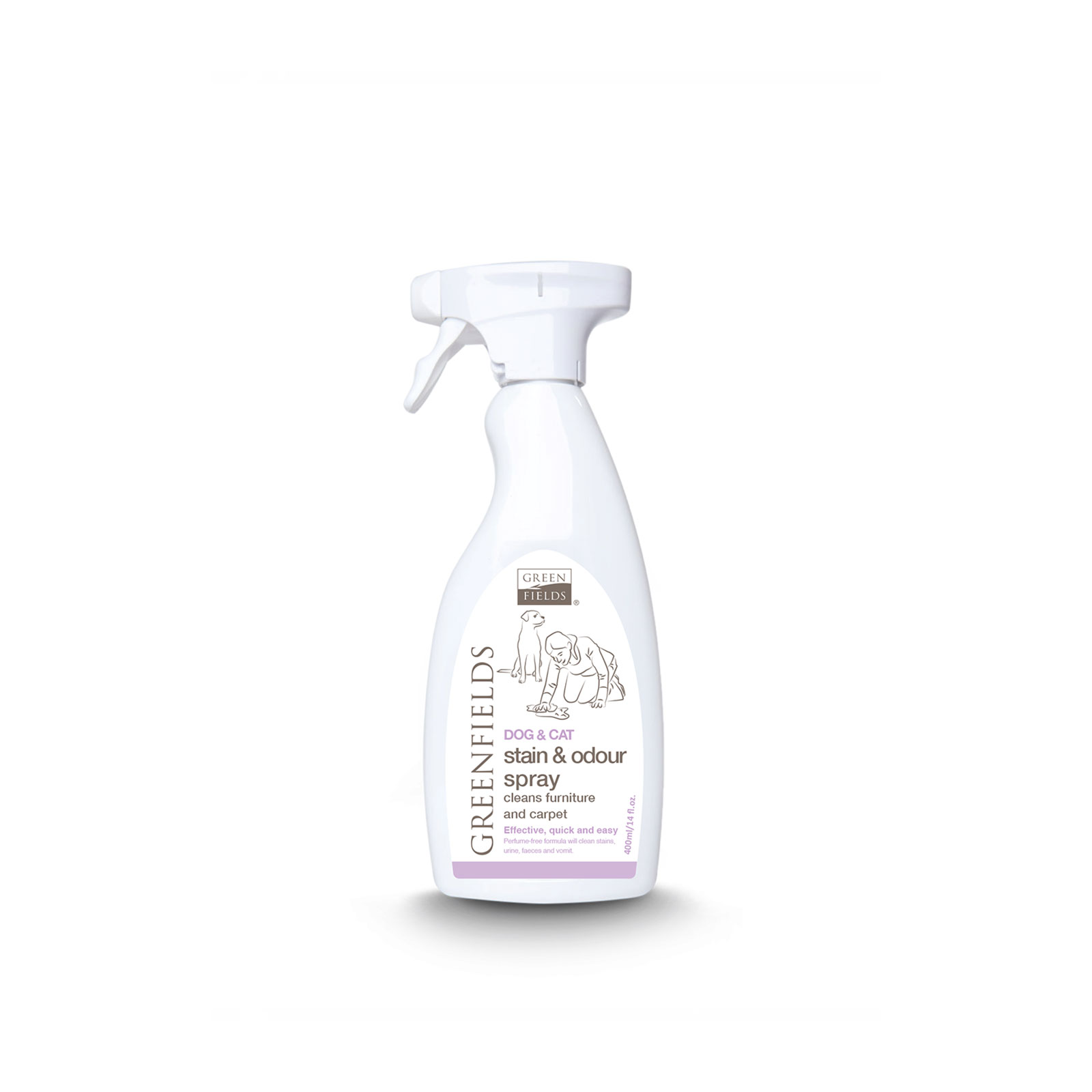 Greenfields - Stain and odour spray - Preparat protiv fleka I smrada