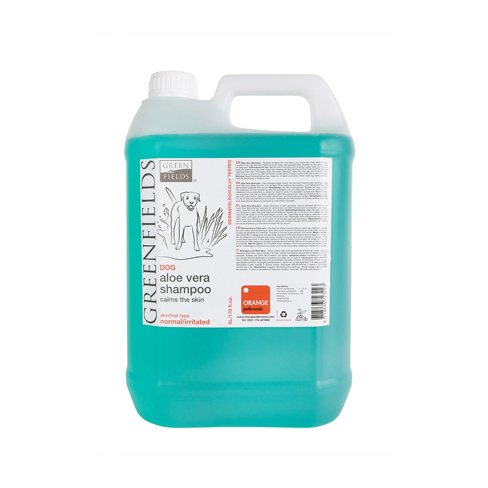 Greenfields - Aloe Vera Shampoo - Šampon za pse, aloe vera, protiv buve i krpelja