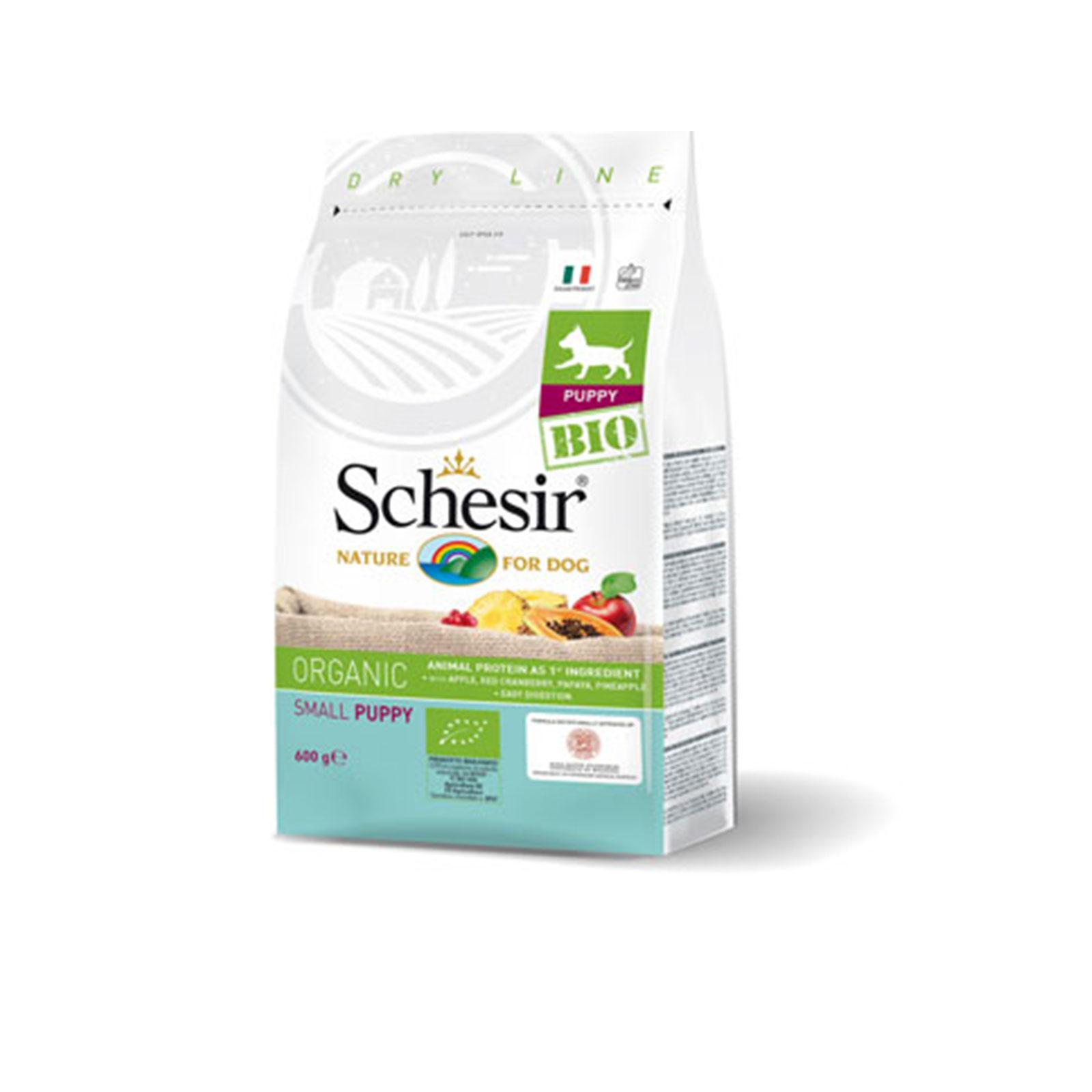 Schesir - Dry Puppy Bio - Organic suva hrana za štence piletina