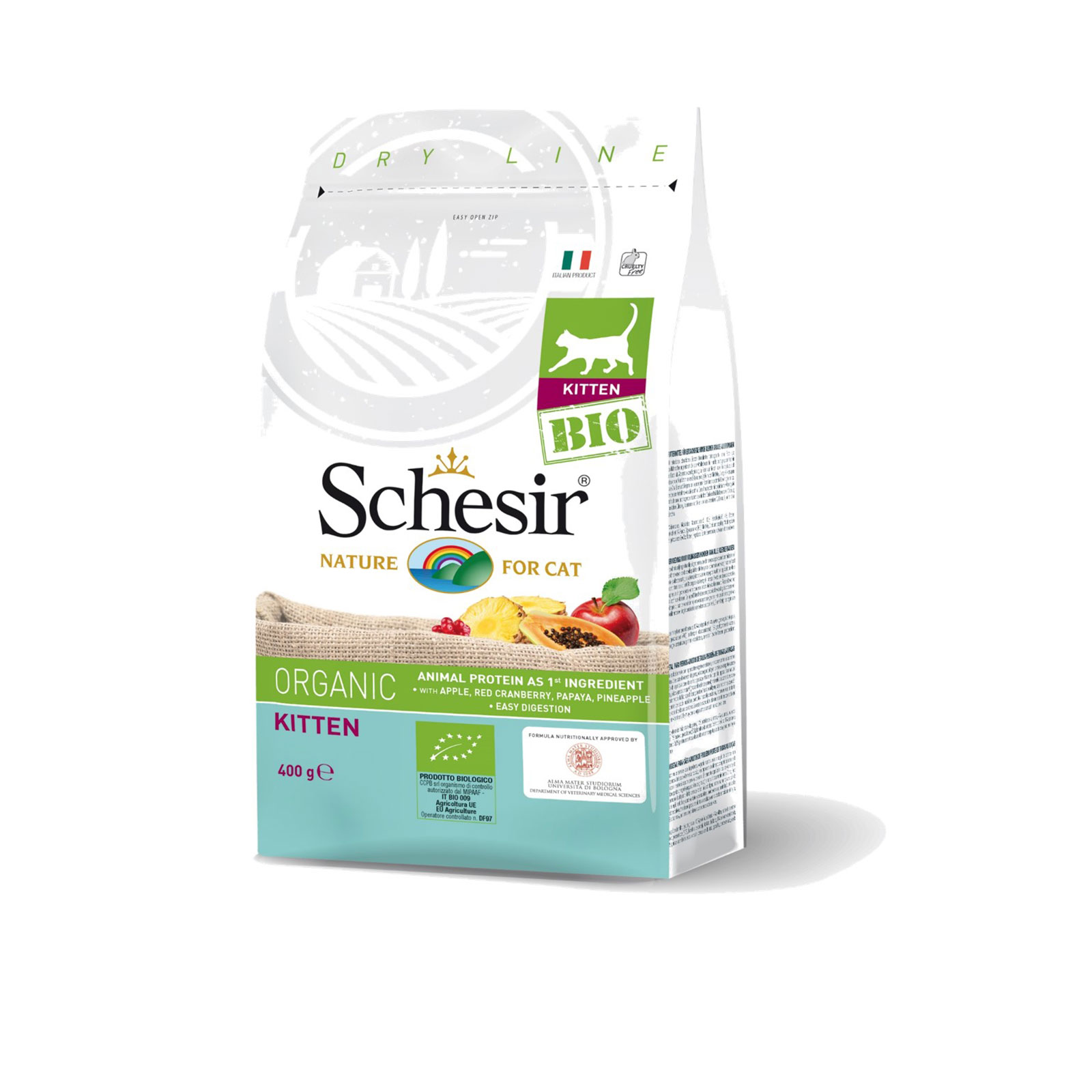 Schesir - Cat Bio Kitten - Organic hrana za mačiće