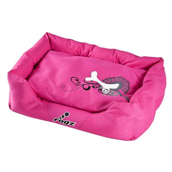 Rogz Lezaljka za pse, pink sa koskama