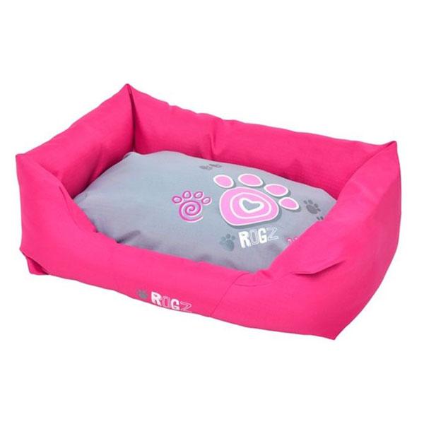 Rogz Lezaljka za pse, pink sa sapama