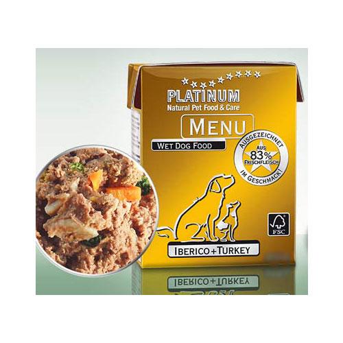 Platinum menu - Vlazna hrana za pse, mangulice I zelje