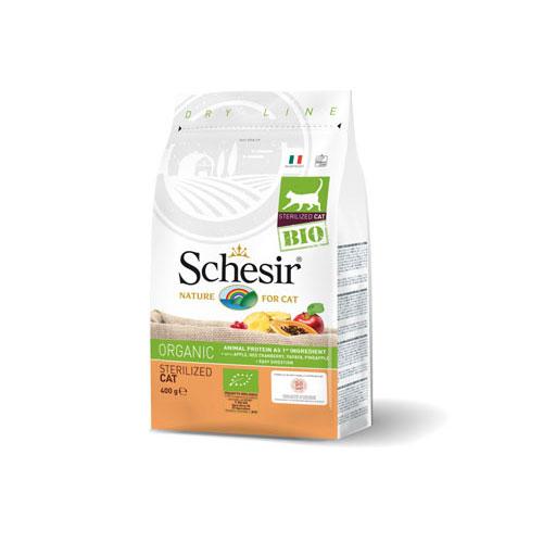 Schesir BIO Organic za sterilisane macke - piletina