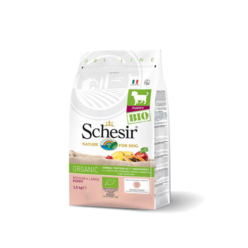 Schesir Bio-Organic suva hrana za pse, piletina