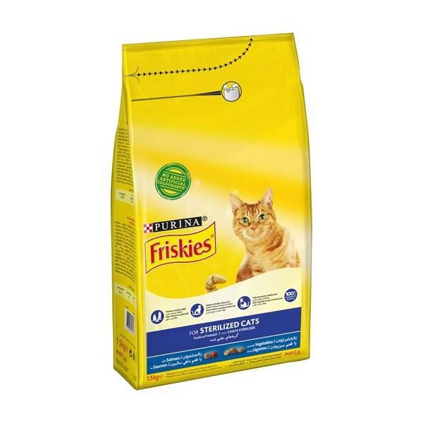 Friskies Cat Sterilised, losos i povrće