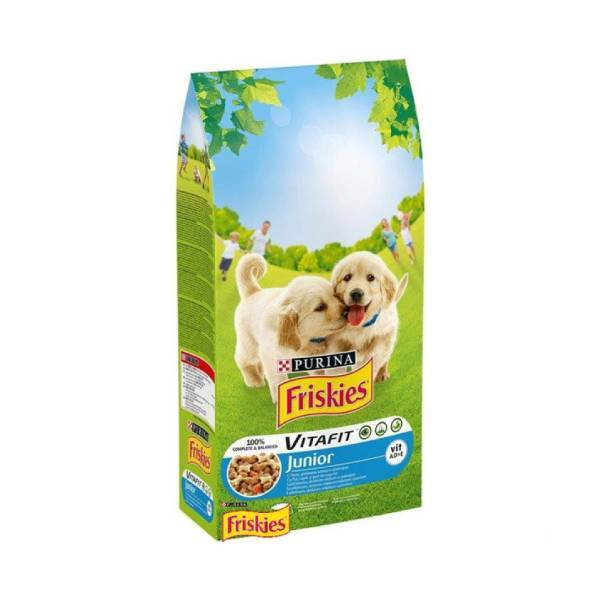 FRISKIES Dog Junior piletina i povrće