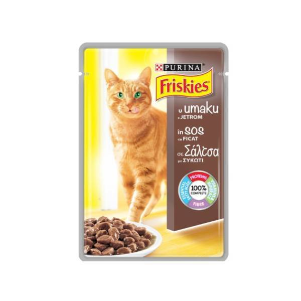 FRISKIES Cat Sos Džigerica