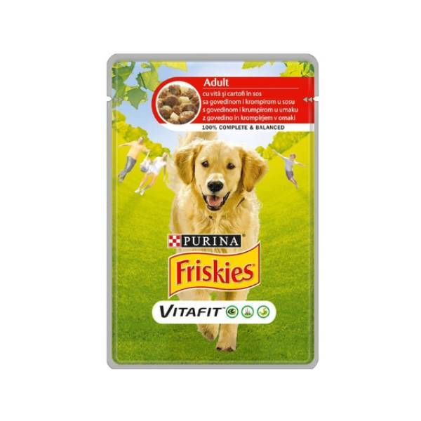 FRISKIES Dog Adult sos govedina i krompir
