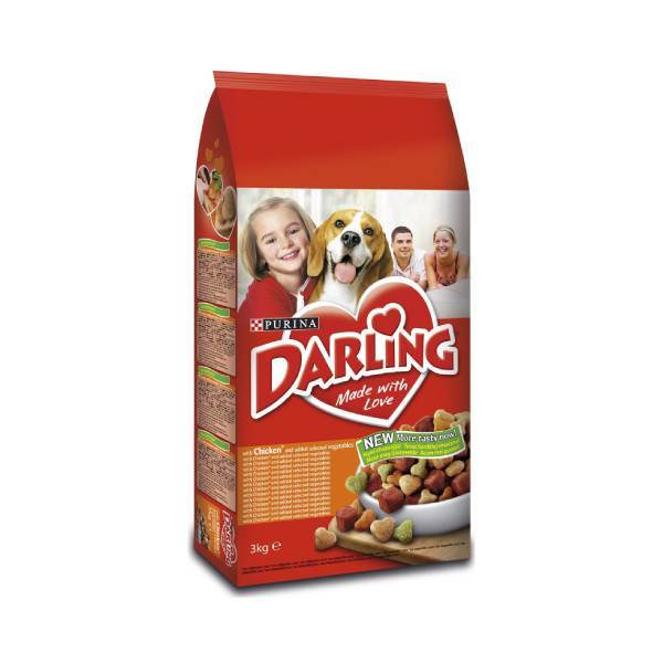 DARLING Dog Adult Piletina i povrće