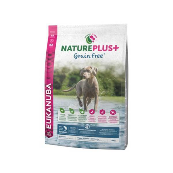 Dog Natural Puppy Junior Grain Free Salmon