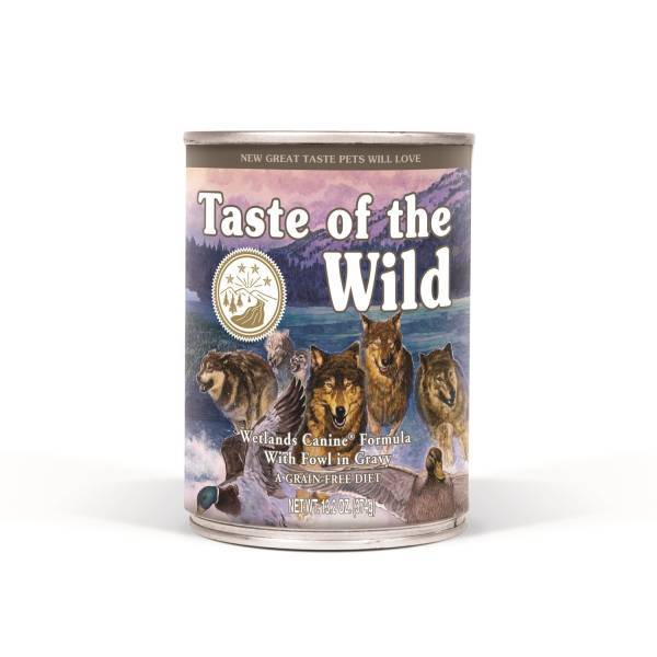 Taste of the Wild Wetlands Canine, meso divljih ptica, konzerva