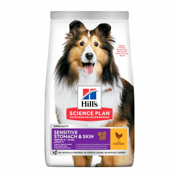Hills Canine Sensitive Stomach & Skin Adult