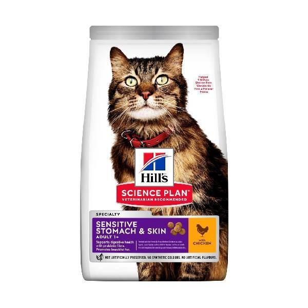 Hills Feline Sensitive Stomach & Skin Adult chicken