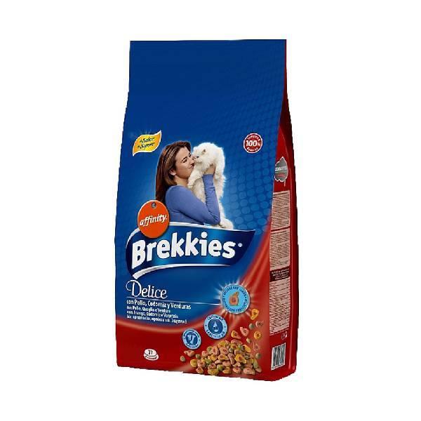 Brekkies Cat Delice Meat