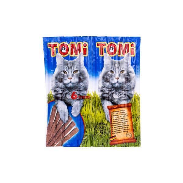 Tomi Cat Sticks poslastica za mačke, losos i pastrmka