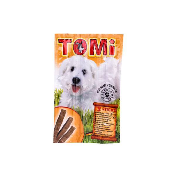 Tomi Dog Sticks poslastica za pse, ćuretina i jagnjetina