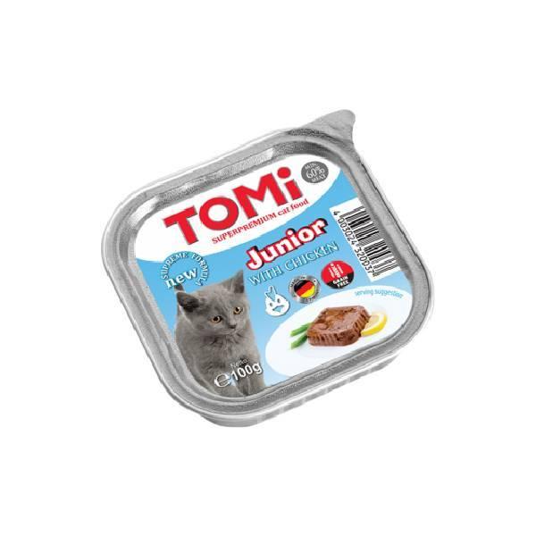 Tomi pašteta za mačke, junior