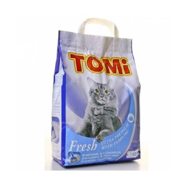 Tomi posip za mačke, bor
