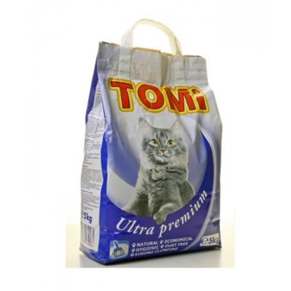 Tomi posip za mačke, plavi