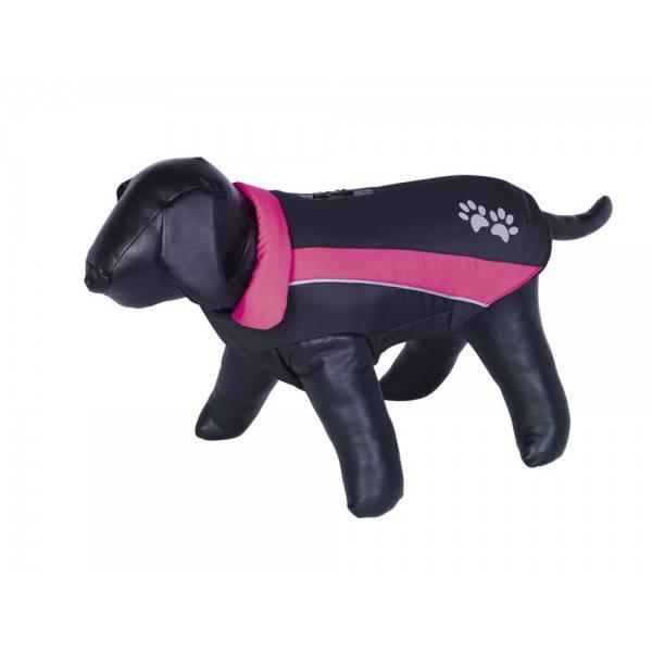 Nobby Sabi kaput za pse, crna/pink