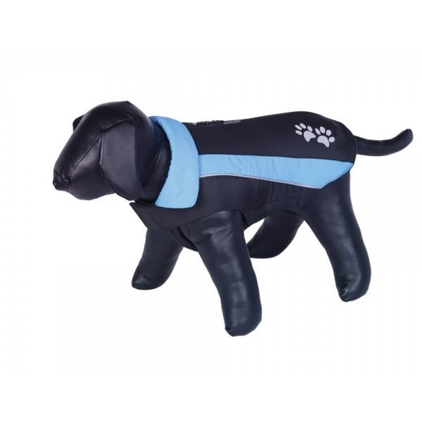 Nobby Sabi kaput za pse, crno/plava