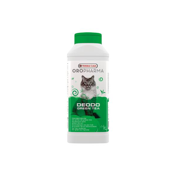 Versele Laga Oropharma Deodo Green Tea, osveživač posipa za mačke sa mirisom zelenog čaja
