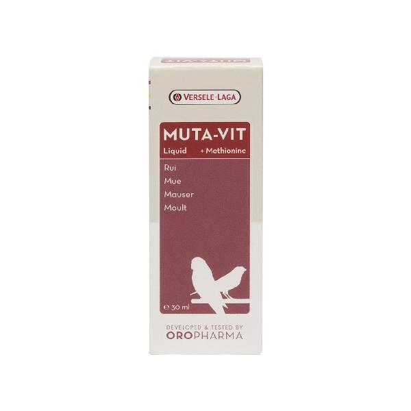 Versele Laga Oropharma muta-vit liquid, tečni preparat za jačanje perja i sprečavanje mitarenja ptica
