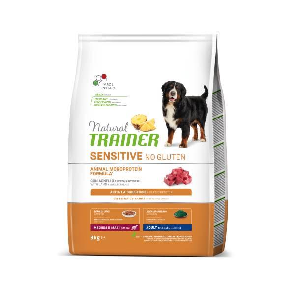 Trainer Natural Sensitive Adult Medium/Maxi Lamb no gluten