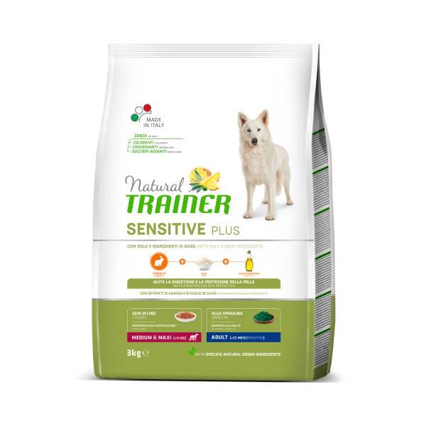 Trainer Natural Sensitive Adult Medium/Maxi rabbit, no gluten