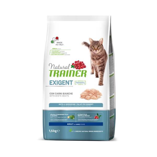Trainer Natural Cat Exigent Cat with Beef & Fresh Chicken