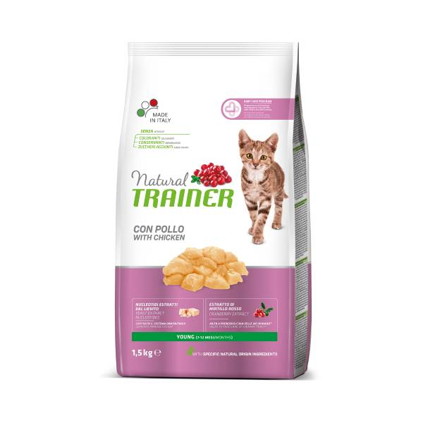 Trainer Natural Cat Young cat chicken