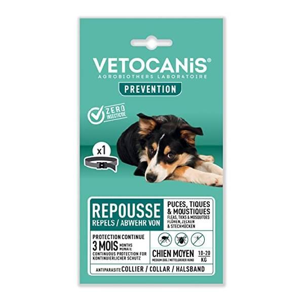 Vetocanis ogrlica za srednje pse protiv insekata i parazita