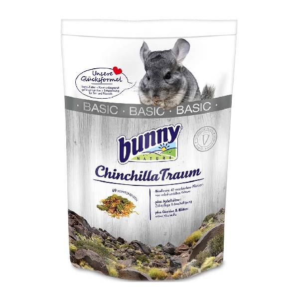 Bunny Nature Chinchilla Dream Basic, hrana za odrasle činčile
