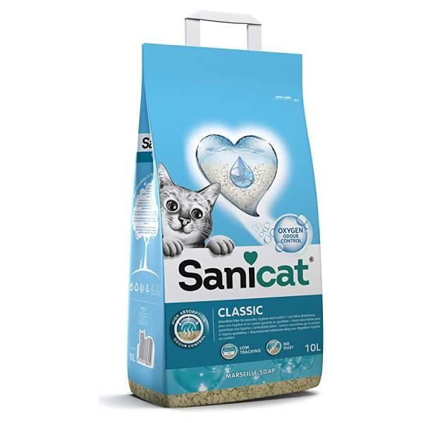 Sanicat Classic Marseille, fina bubreća glina, sa aktivnim kiseonikom  mirisom marsejskog sapuna