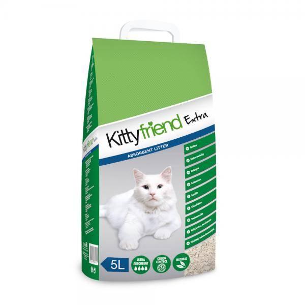 Sanicat KittyFriend Extra, negrudvajući posip na bazi bele gline