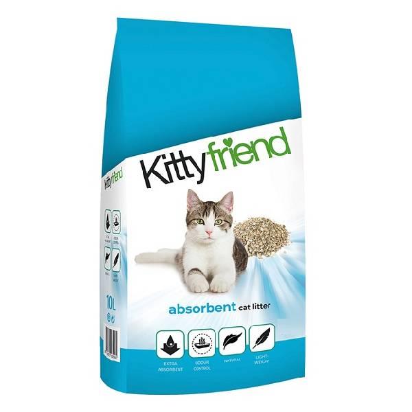 Sanicat KittyFriend Absorbent, upijajući posip napravljen od 100% prirodne gline
