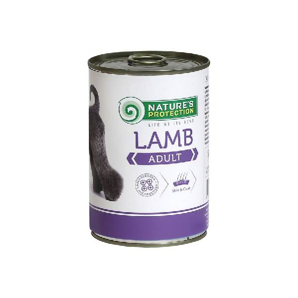 Natures Protection Can Dog Adult Lamb