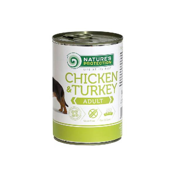 Natures Protection Can Dog Chicken&Turkey
