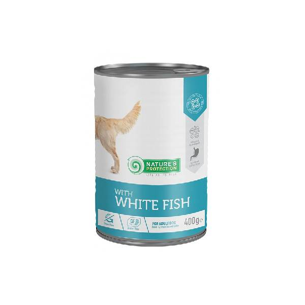 Natures Protection Can Dog Sensibile Digestion White Fish