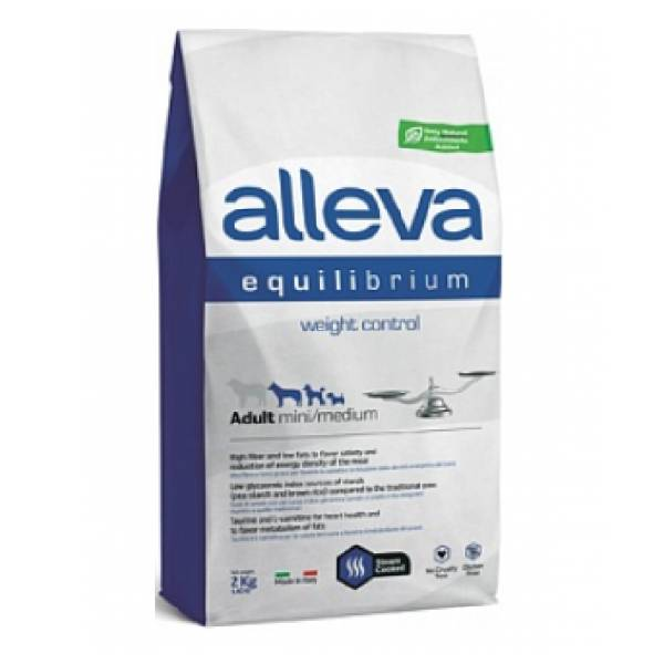 Alleva Equilibrium Adult Weight Control Mini/Medium