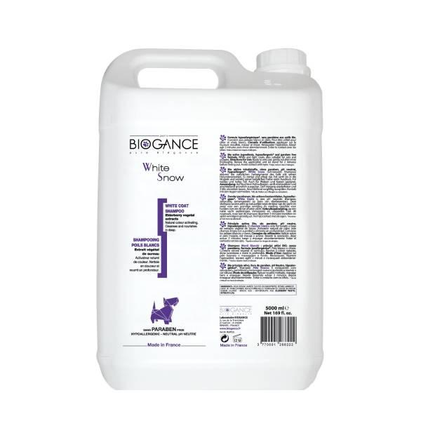 Biogance White Snow Shampoo, šampon za održavanje bele boje pasa i mačaka