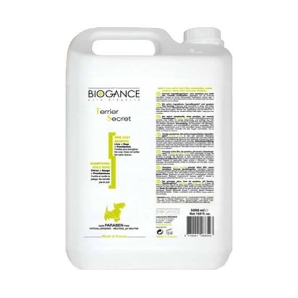 Biogance Terrier Secret Shampoo, šampon za čišćenje, učvršćivanje i toniranje oštre dlake pasa