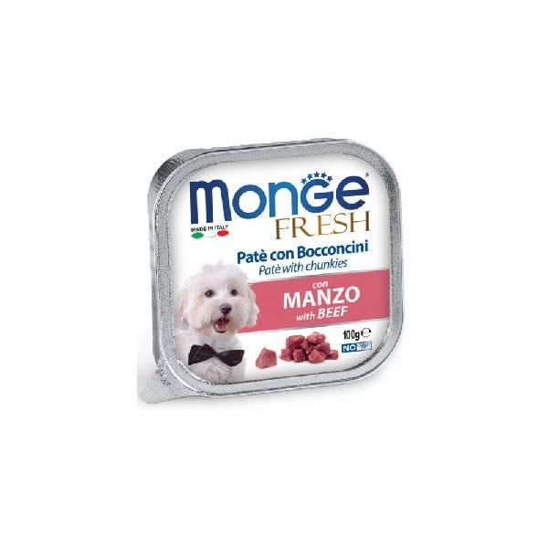 Monge Fresh Beef, pašteta za pse sa ukusom govedine