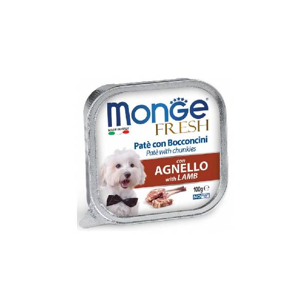 Monge Fresh Lamb, pašteta za pse sa ukusom jagnjetine