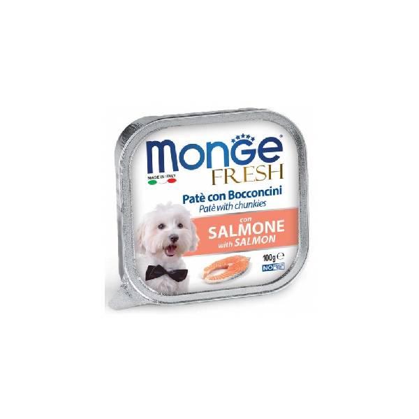 Monge Fresh Salmon, pašteta za pse sa ukusom lososa