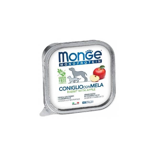 Monge Dog Fruit Rabbit with Apple, pašteta za pse sa ukusom zečetine i jabuke