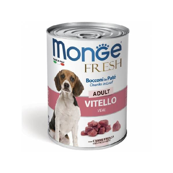 Monge Fresh Adult Veal, konzervirana hrana za pse sa ukusom teletine