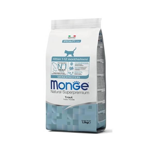 Monge Kitten Monoprotein Trout | Apetit shop - Online prodaja hrane i opreme za kućne ljubimce